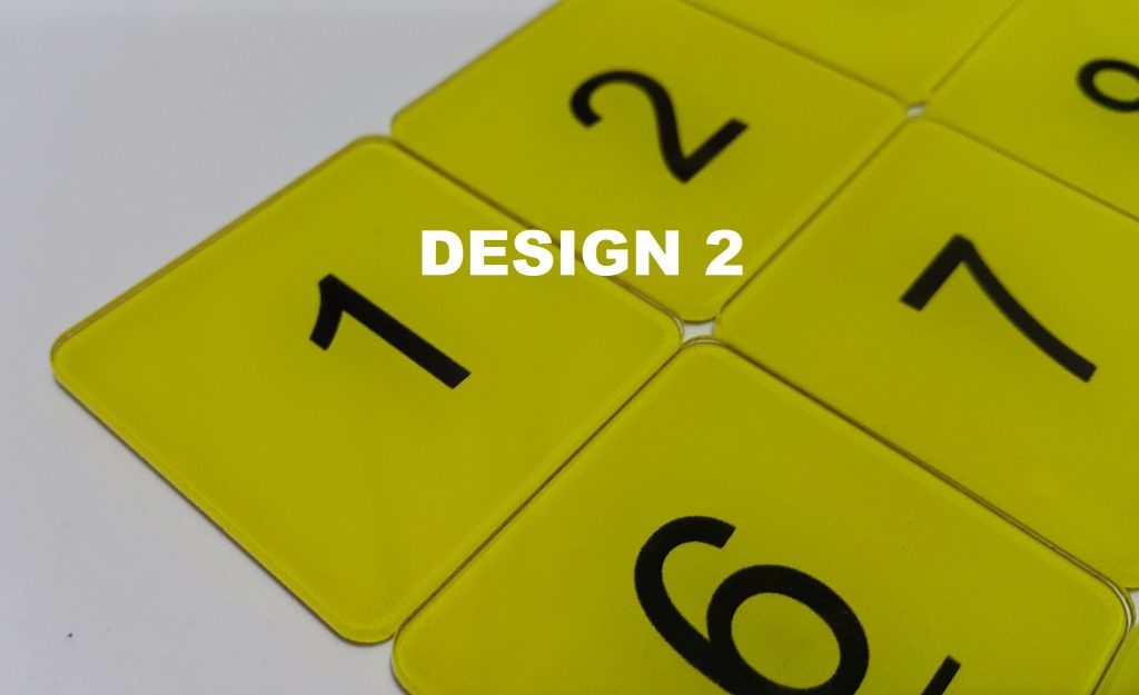 Acrylic Table Numbers Mm Admire POS Point Of Sales System For - Restaurant table numbering system