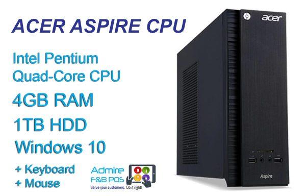 Acer Aspire CPU