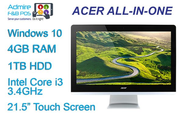 Acer 21 inch Touch Screen Station