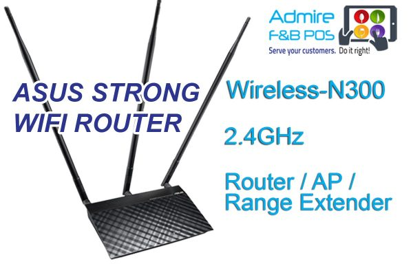 Asus Triple Antenna Wifi Router