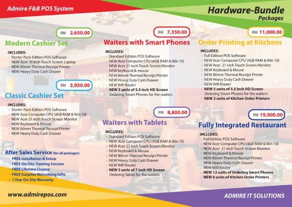 Restaurant POS System Hardware-Bundle