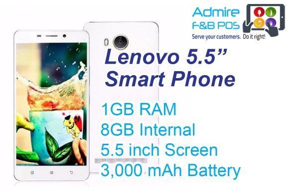 Lenovo 5.5 inch Smart Phone