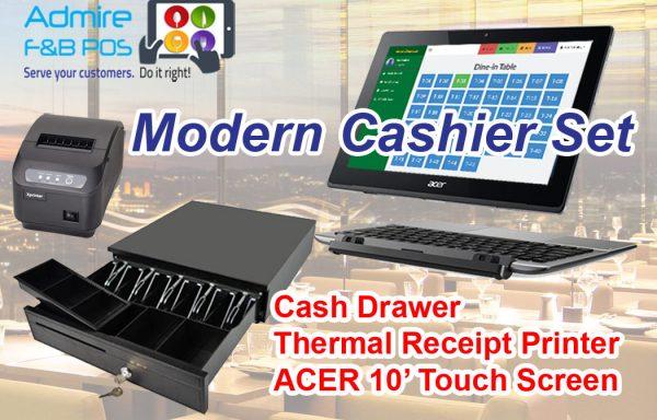 E1. Modern Cashier Set