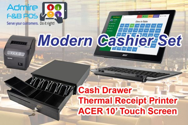 Modern Cashier Set