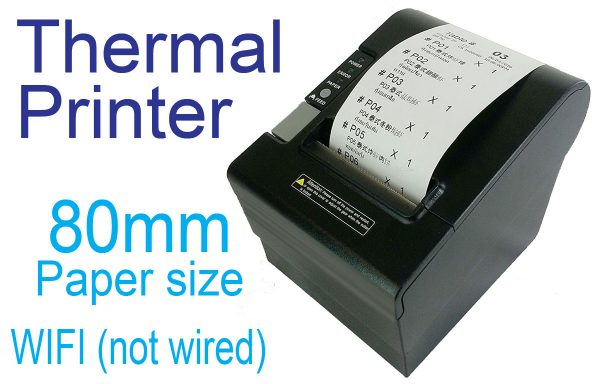Thermal Order Printer (80mm, Wifi)