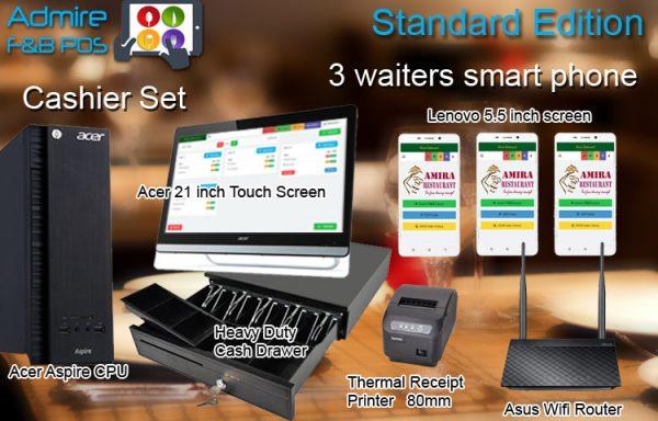 U1. Waiters with Smart Phones