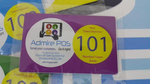 RFID Smart Card Printed